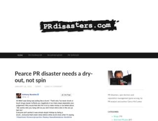 prdisasters.com screenshot