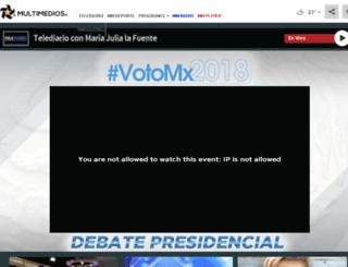 pre.multimedios.tv screenshot