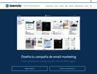 pre.teenvio.com screenshot