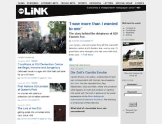 pre2010.thelinknewspaper.ca screenshot