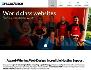 precedence.com.au screenshot