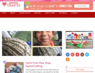 precious-crafts.com screenshot