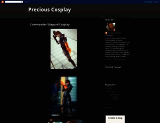 preciouscosblog.blogspot.com screenshot