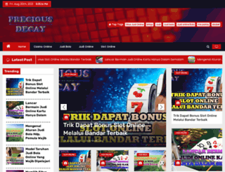preciousdecay.com screenshot