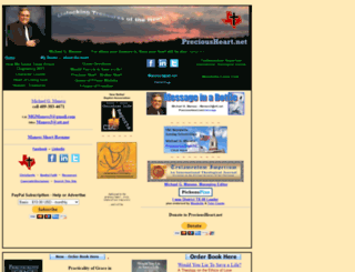 preciousheart.net screenshot