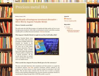 preciousmetaliracom.blogspot.com screenshot