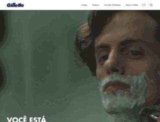 precisaogillette.com.br screenshot