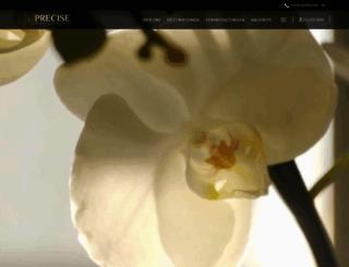 precisehotels.com screenshot