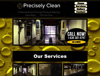 preciselyclean.com screenshot
