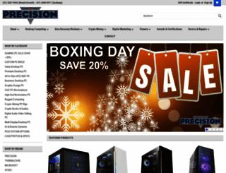 precisioncomputers.com.au screenshot
