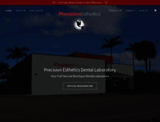 precisionesthetics.com screenshot