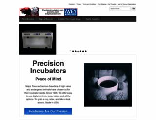 precisionincubators.com screenshot