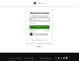 precisionlms.ptc.com screenshot