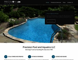 precisionpoolandaquatics.com screenshot