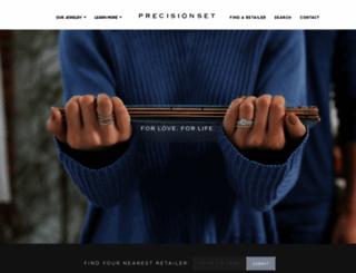 precisionset.com screenshot