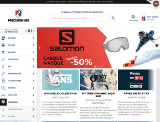 precisionsport.fr screenshot