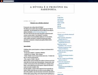 precisoterduvidas.blogspot.com screenshot