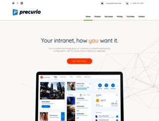precurio.com screenshot