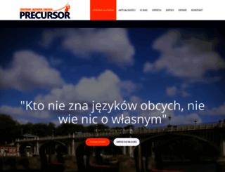 precursor.com.pl screenshot