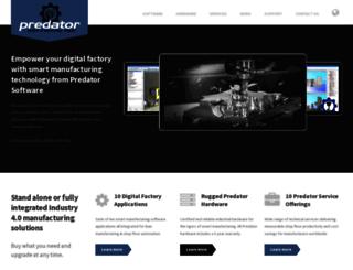 predator-software.com screenshot