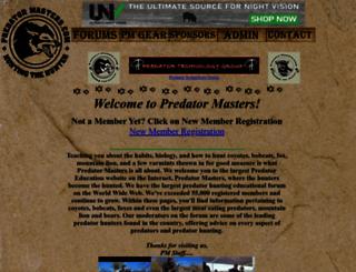 predatormastersforums.com screenshot