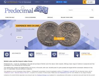 predecimal.com screenshot