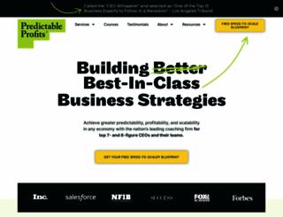 predictableprofits.com screenshot