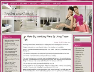 predictandcontrol.com screenshot