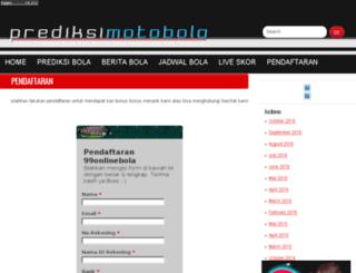 prediksimotobola.com screenshot