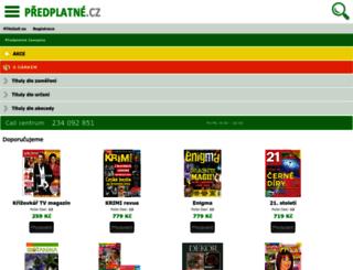predplatne.cz screenshot