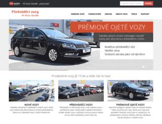predvadeci-vozy.cz screenshot