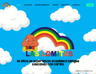 preescolarlaslomitas.com.ve screenshot