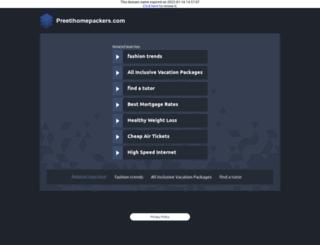 preetihomepackers.com screenshot