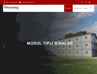 prefabrik.az screenshot