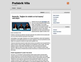 prefabrikvilla.wordpress.com screenshot