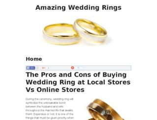 prefectweddingring.com screenshot