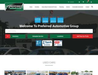preferredautogroup.com screenshot