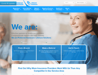 preferredhomecare.com screenshot