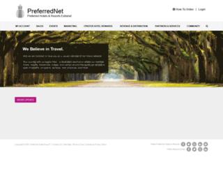 preferredhotels.net screenshot