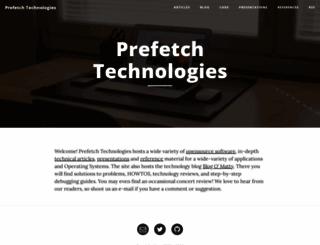 prefetch.net screenshot