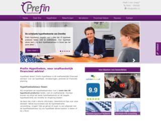 prefin.nl screenshot