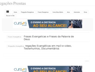 pregacoesprontas.blogspot.com screenshot