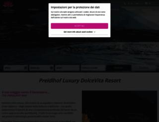 preidlhof.it screenshot