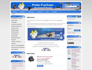 preis-fuchser.de screenshot