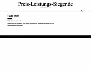 preis-leistungs-sieger.de screenshot