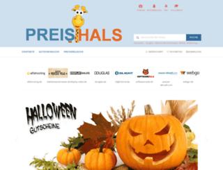 preishals.de screenshot