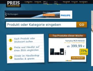 preissuchmaschine.at screenshot