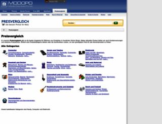preisvergleich.modopo.com screenshot