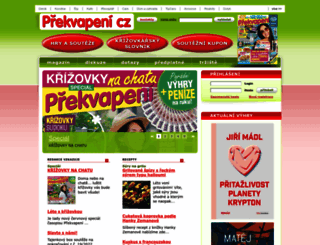 prekvapeni.vlasta.cz screenshot