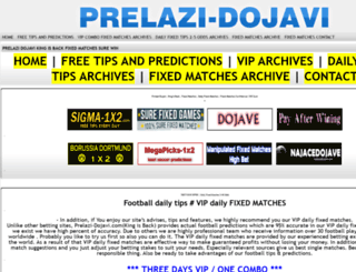prelazi-dojavi.com screenshot